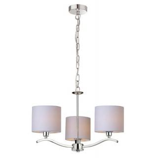 ZUMA LINE Lampa wewnętrzna wisząca CARMEN, RLD94103-3, beżowy, srebrny.