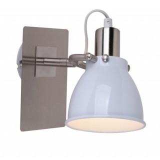 ZUMA LINE Lampa wewnętrzna kinkiet PICTOR, RLB94023-1W, biały.