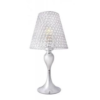 ZUMA LINE Lampa wewnętrzna stołowa MARVEL, RLT93178-1A, srebrny.