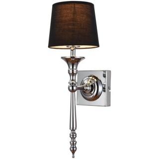 ZUMA LINE Lampa wewnętrzna kinkiet CLOE, RLB94875-1, czarny.