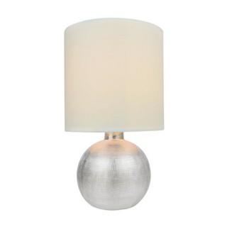 ZUMA LINE Lampa wewnętrzna stołowa SALLY, T16079, biały, srebrny.
