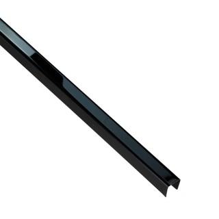 PROFIL DESIGN Listwa dekoracyjna ANTRACYT 10mm, stal polerowana lustro, 270cm.