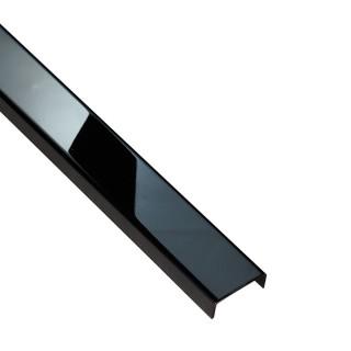 PROFIL DESIGN Listwa dekoracyjna ANTRACYT 23mm, stal polerowana lustro, 270cm.