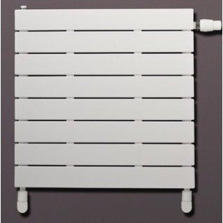 LUX RAD Niagara pozioma z wkładką termostatyczną grzejnik pokojowy 295x600 mm, antracyt RAL 7016.