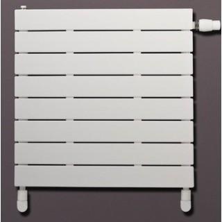 LUX RAD Niagara pozioma z wkładką termostatyczną grzejnik pokojowy 370x600 mm, biały RAL 9003.