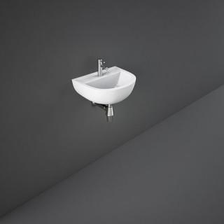 RAK CERAMICS Compact Umywalka 55x41 cm wisząca, biały połysk