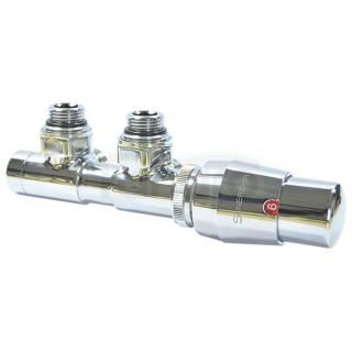 SUNERZHA Zawór termostatyczny z podłączeniem 50mm CHROM prawy (506522P).