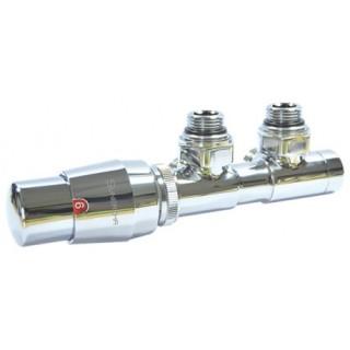 SUNERZHA Zawór termostatyczny z podłączeniem 50mm CHROM lewy (506522L).