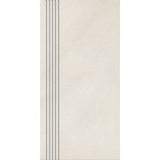NOWA GALA Stopnica frezowana K-N-TS 01 natura gres rektyfikowany 29,7x59,7cm Gat.1