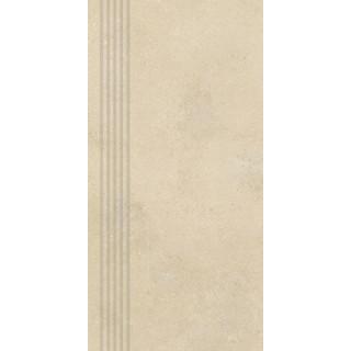 NOWA GALA Stopnica NU 02 natura gres rektyfikowany 29,7x59,7cm Gat.1