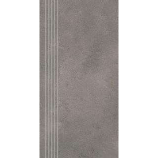 NOWA GALA Stopnica NU 13 natura gres rektyfikowany 29,7x59,7cm Gat.1