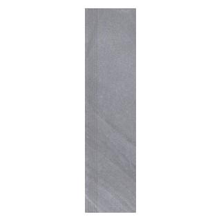 NOWA GALA Stopnica frezowana SH 12 natura gres rektyfikowany 29,7x119,7cm Gat.1