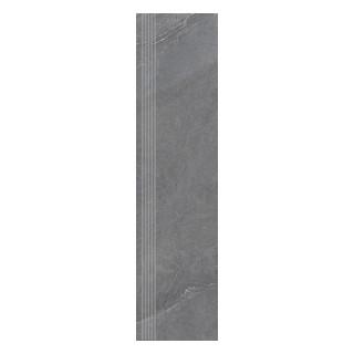 NOWA GALA Stopnica frezowana SH 13 natura gres rektyfikowany 29,7x119,7cm Gat.1