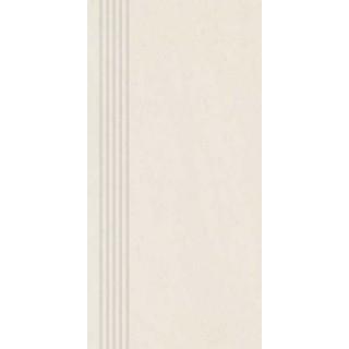 NOWA GALA Stopnica frezowana CN 99 natura gres rektyfikowany 29,7x59,7cm Gat.1