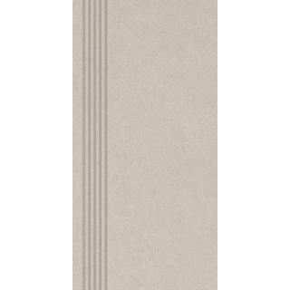 NOWA GALA Stopnica frezowana CN 12 natura gres rektyfikowany 29,7x59,7cm Gat.1