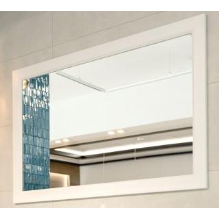 IMPERIUM PŁYTEK, Lustro, biała rama, 120x80x6,5cm.