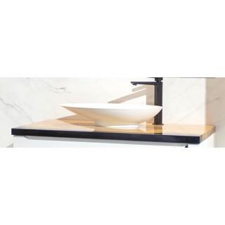 IMPERIUM PŁYTEK, Blat drewniany dębowy, 100x50x3,5cm.