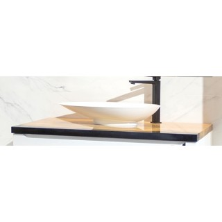 IMPERIUM PŁYTEK, Blat drewniany dębowy AFRODYTA, 100x50x3,5cm.