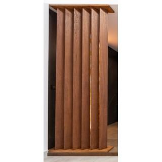IMPERIUM PŁYTEK, Kolumna drewniana dębowa, 250x11x5cm.