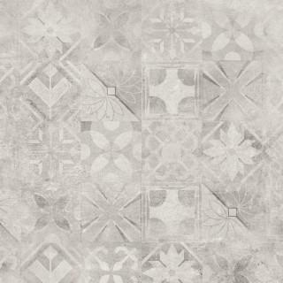 CERRAD Softcement White poler gres rektyfikowany, dekor, patchwork 59,7x59,7x0,8 cm Gat.1