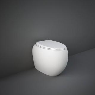 RAK CERAMICS Cloud Miska WC stojąca 56x40 cm, rimless, biały połysk