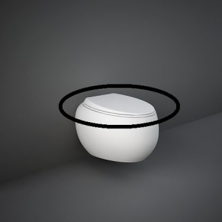 RAK CERAMICS Cloud Deska WC wolnoopadająca, biały połysk