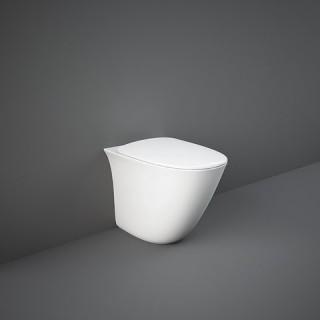 RAK CERAMICS Sensation Miska WC stojąca rimless 52x38 cm, biały połysk