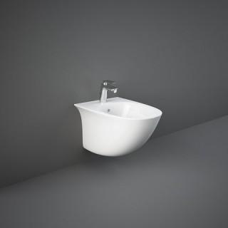 RAK CERAMICS Sensation Bidet podwieszany 52x38  cm, biały połysk