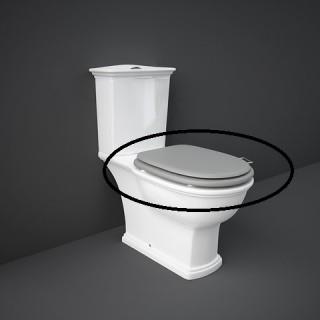 RAK CERAMICS Washington Deska WC wolnoopadająca lakierowana, czarny mat