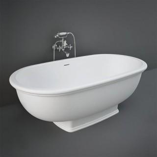 RAK CERAMICS Washington Wanna wolnostojąca 156x81 cm, biały mat