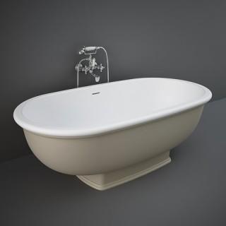 RAK CERAMICS Washington Wanna wolnostojąca 156x81 cm, cappuccino mat