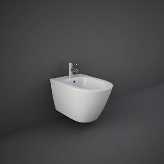 RAK CERAMICS Feeling Bidet podwieszany 52x36 cm, biały mat