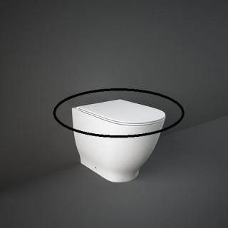 RAK CERAMICS Moon Deska WC wolnoopadająca slim, biały połysk