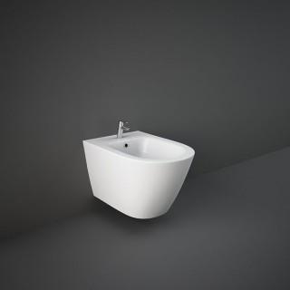 RAK CERAMICS Resort Bidet podwieszany 52x36 cm, biały połysk