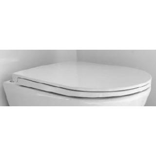 RAK CERAMICS Resort/Tonique Deska WC wolnoopadająca slim, biały.