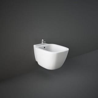 RAK CERAMICS One Bidet podwieszany 52x37 cm, biały połysk