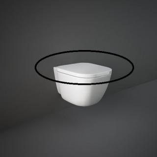 RAK CERAMICS One Deska WC bez wolnego opadu, biały.